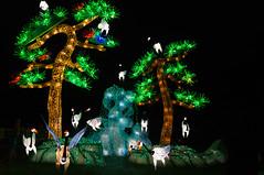 Giant Penjing (five til noon) Tags: china usa garden us unitedstates stlouis missouri lantern saintlouis lanternfestival chineselantern chinesefestival penjing missouribotanticalgarden shawsgardens