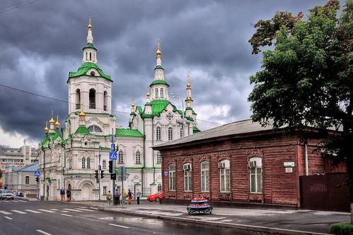 Спасская церковь, XVIII в. Тюмень