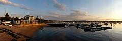 First Light   --   L1080936 (mshnaya) Tags: camera leica light seascape reflection water marina sunrise landscape dawn bay harbor flickr sailing waterfront harbour cove snapshot sails anchor mooring sunnset narrangett