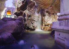 Fountains (alexappugliesi) Tags: water statue rocks long exposure forum column the lasvegasnevada smcpentaxa50mmf17