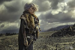 -DISCARDED- (Zim Killgore) Tags: zim killgore zimkillgore discarded emily gummig canon 5dmarkiv 5d4 obscura black apocolypse dark natural light 2470 clouds post girl hair raw gritty fur madmax mad death