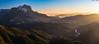 Peña Montañesa y Valle del Cinca (sostingut) Tags: montaña ladera d750 luz sol pirineos niebla paisaje panoramica atardecer cresta valle