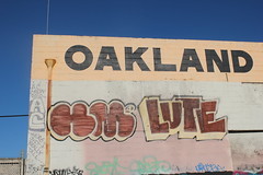 Holms, Lute (nobammermane) Tags: holmes lute atb oakland graffiti eastbay floater