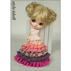 style4doll Lace Dress for Blythe