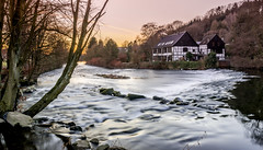 Wipperkotten (alewauk) Tags: sonya7 wipperkotten nature landscape water goldenhour trees wideangle oldhouse