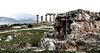 Ancient Corinth. Temple of Apollo.