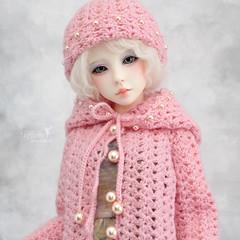 Pretty in pink  💖 (Maram Banu) Tags: doll bjd narae n402 bimong msd pink outfit crochet handmade fairystyle marambanu