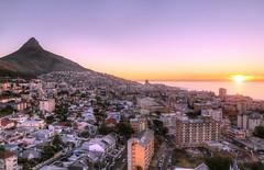 Cape Town [RSA] (ta92310) Tags: travel hdr topaz night sunset seapoint topoftheritz restaurant autumn automne 2014 africa south afrique sud australe lecap capetown motherscity canon 6d