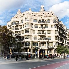 Casa Mila (Jarek G) Tags: spain barcelona casa mila