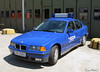 THW BMW (Schwanzus_Longus) Tags: thw technisches hilfswerk blue civil defence defense emergency vehicle sedan saloon old german germany car hoya hude bookholzberg bmw 316i fahrzeug auto