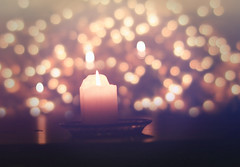 Look at how a single candle can both defy and define the darkness.  ― Anne Frank (miss.interpretations) Tags: candle bokeh evening light darkness reflection table dof twinklinglights lights christmaslights magic thought flickr january 2017 flickeringflame flame tinylights warmth colorful golden yellow golds wax whitecandle colorado canonm3
