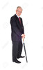 Senior man standing with umbrella. (levitanissac) Tags: standing whitebackground senior isolated man male darksuit businessman umbrella formal adult elderly caucasian professional studio portrait expressions concept necktie holding old guy protection older face successful safety cutout handsome friendly confident fullbody facial aged fulllength vertical smiling mature protect posing glasses gentleman expression grandfather