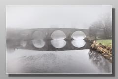 Old Stirling Bridge #1 (Bill McKenzie / bmphoto) Tags: stirling oldstirlingbridge mist riverforth crossing best river reflections