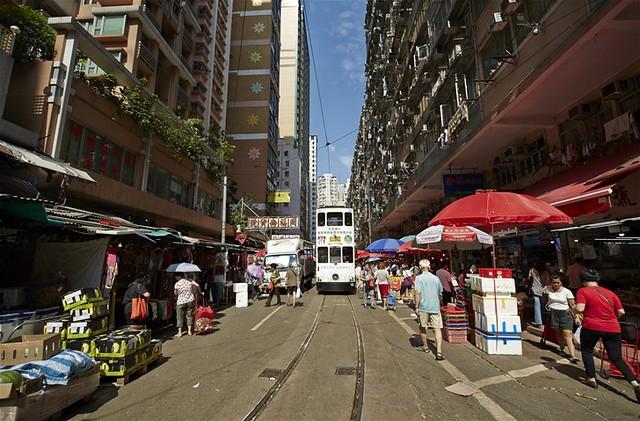 香港生活ちょこっと体験 1日コース(アジアの街歩きのオプショナルツアー)