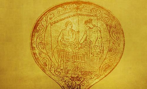 "Petteia - Ludus Latrunculorum  / Iconografía de las civilizaciones helenolatinas • <a style=""font-size:0.8em;"" href=""http://www.flickr.com/photos/30735181@N00/32522186525/"" target=""_blank"">View on Flickr</a>"