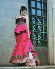 Alta Costura (melducca) Tags: dress vestido pink rosa couture costura encaje fashion moda model woman beauty facultad de derecho buenos aires shadow motiquedada