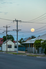 Full Moon Over Blende Street (Serendigity) Tags: outback mining street australia roadtrip fullmoon brokenhill newsouthwales city nsw