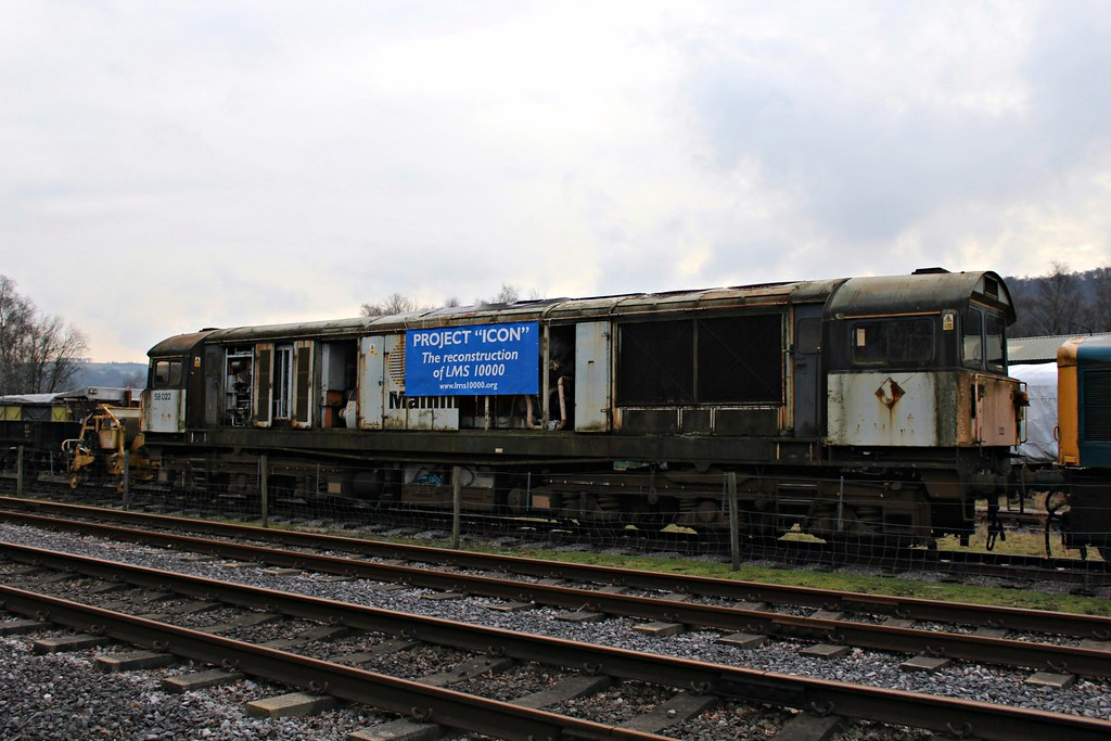 Mainline Class 58 58022 - Peak Rail (the mother '66' 66001) Tags