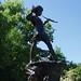 Peter Pan Statue. Kensington Gardens