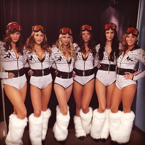 Show time! Our lovely ladies are ready for the Guys Choice Awards! #snowbunnies #cocktails #servers #models #events #1iota #awardshow #guyschoice2015 #bacardi #guyschoice #spiketv #geico #axe #mtdew #burgerking #kia #att #sonystudios #stage30 #cocktails #