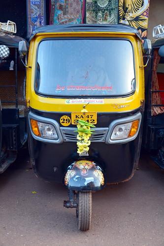 India - Karnataka - Gokarna - Auto Rickshaw - 4