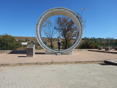 Posing in a tunnel pipe (range commander) Tags: africa southafrica lesotho freestate drinkingwater 2015 ashriveroutfall lesothowaterhighlandsproject