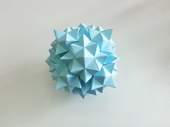 Truncated Cuboctahedron with Cupola (hyunrang) Tags: origami cupola stellated hur truncated cuboctahedron paperstrip