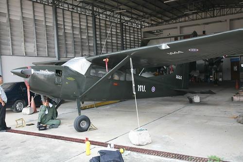 Cessna U-17B 1444-3 Chiang Mai 20Mar13 (Thai Ranger)