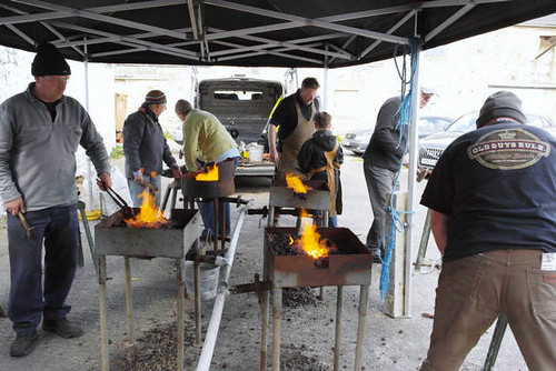 Blacksmith for a Day with Adrian Wood