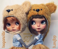"Despite I won't be able to be in BlytehCon París I'm happy to announce that @buganvilleanddolls and I have created a very special set inspired by ""Winnie The Pooh"" for BCEU. We really hope you all like it!! This set will be available at @buganville stall."