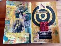 13 wtj inspiration (LaWendeltreppe) Tags: art collages journal wtj