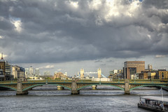 London and Tower Bridges-9 (FitzinCC) Tags: londonhdr