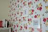 Flower wall (xKaroline) Tags: flowers wallpaper flores floral room quarto papel decor decoração parede