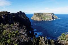20150719-14-Tasman Island (Roger T Wong) Tags: winter sea sky trek outdoors nationalpark walk australia hike cliffs tasmania np bushwalk tramp slouds 2015 tasmanpeninsula dolerite tasmanisland capepillar sony1635 rogertwong sel1635z sonya7ii sonyilce7m2 sonyalpha7ii sonyfe1635mmf4zaosscarlzeissvariotessart