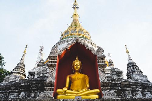 Wat Bupparam - Chiang Mai, Thailand
