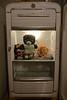 Teddy Bear in a Kelvinator Take 2 (ricko) Tags: chicken beer vintage toy refrigerator kelvinator