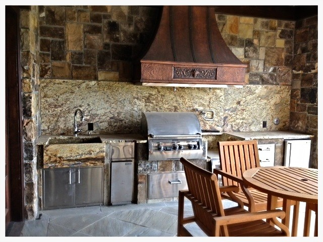 Custom Fire Magic Outdoor Kitchen, Dalton, GA