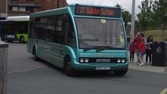 Arrowebrook Coaches, Optare Solo, MX07 NTT (NorthernEnglandPublicTransportHub) Tags: