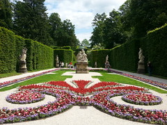Linderhof Palace, Bavaria, Germany (alexstock) Tags: flowers castle fountain statue germany garden bavaria big palace fave linderhof a abigfave