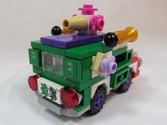 Joker Vehicle 5 (Brickadier General) Tags: robin set dark comics miniature batcave play lego bruce wayne harley batman quinn joker knight alfred manor batmobile ideas batwing batboat microscale