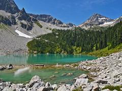 ll1260107LewisLake (thom52) Tags: lake scenery heather pass lewis moose rainy thom wa northcascades wsweekly147
