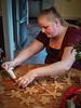 Sara goes for a big one (raddad! aka Randy Knauf) Tags: raddad6735212 raddad randyknauf raddad4114 randy knauf gingerbreadman gingerbread gingerbreadmen chirstmastradition hickory hickorynorthcarolina family