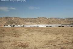Sunset Limited leaving El Casco, CA (Travis Berryman) Tags: unionpacific beaumonthill uprr upyumasub desertrailroading