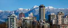 Living Under The Hills (Clayton Perry Photoworks) Tags: vancouver bc canada fall autumn explorebc explorecanada outdoor snow mountains northshore skyline panorama winter