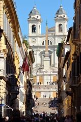 Via del Corso - Rome (_Sunshine94_) Tags: roma rome colosseo viadelcorso piazzadispagna fori foriimperiali barcaccia altaredellapatria monumenti gustavoaceves shot photo photography italy italia