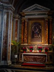 1624 - Santa Sabina (Diego Rosato) Tags: santa sabina saint chiesa church cappella laterale side chapel altare fuji x30 rawtherapee roma rome