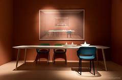 ExDreamFoto-07282.jpg (ExDreamFoto) Tags: immcologne tisch stuhl exdreamfoto gemälde bild wandbild