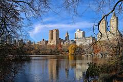Central Park West (Bob90901) Tags: centralparkwest thelake newyorkcity centralpark thedakota autumn morning rpg90901 newyork cityscape skyline buildings architecture canon 6d canonef24105mmf4lisusm manhattan fall