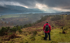 Staring out over Loch Venachar (The Aperture Geek) Tags: hike trossachs walk canon 70d sigma 1770 nature beauty scotland scottish highlands scenery landscape dramatic clouds trossacs lochlomand water sky lake hdr hills venachar