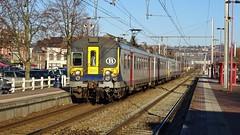 AM 995 - L154 - JAMBES (philreg2011) Tags: amclassique cityrail am995 l154 l20144550 l20144561 sncb nmbs trein train